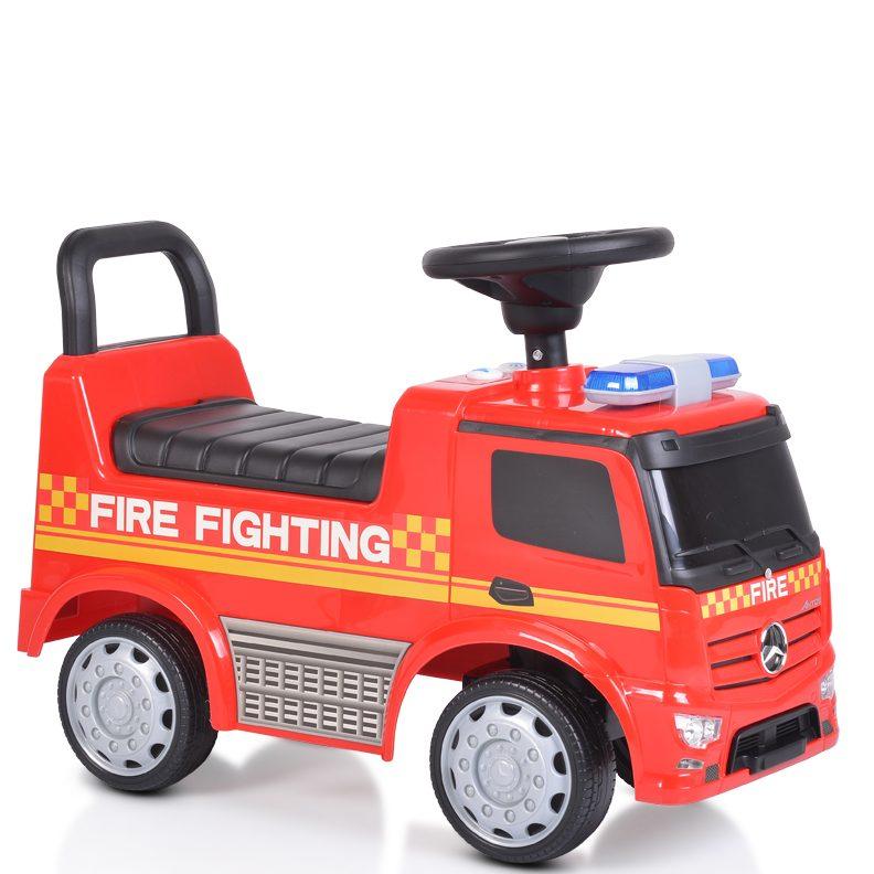 Кола за бутане Mercedes-Benz Antos POLICE – Червена