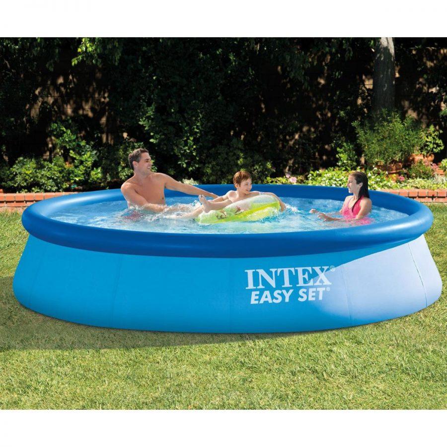 Надуваем басейн INTEX Easy Set, 366 х 76 см. с филтърна помпа