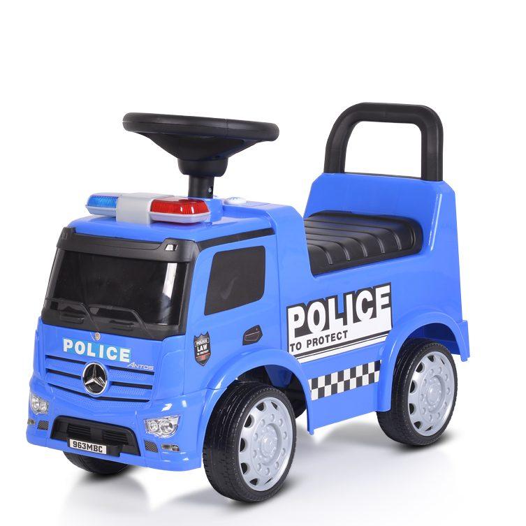 Кола за бутане Mercedes-Benz Antos POLICE – Синя