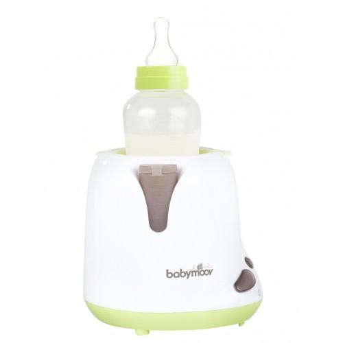 BabyМoov Уред за затопляне на шишета за вкъщи и колата, Зелен