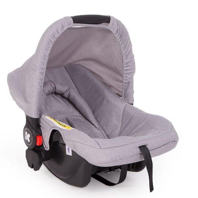 Кikka Boo Комбинирана бебешка количка 2в1 Airy Light Grey