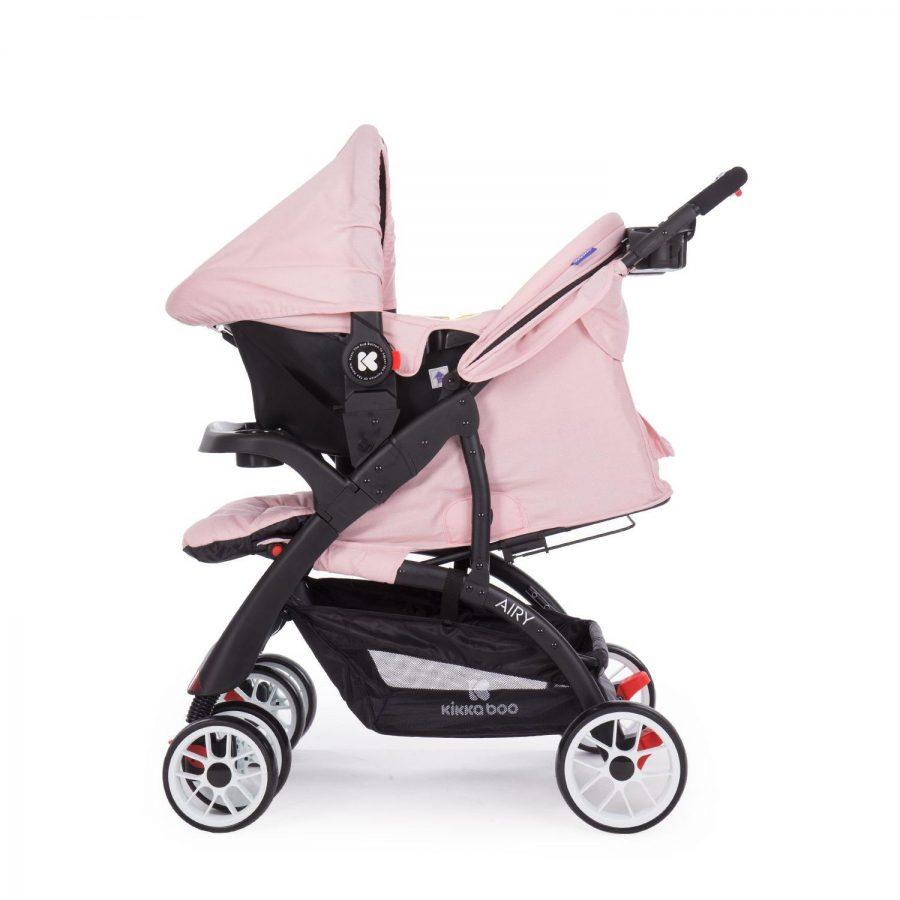 Кikka Boo Комбинирана бебешка количка 2в1 Airy Pink
