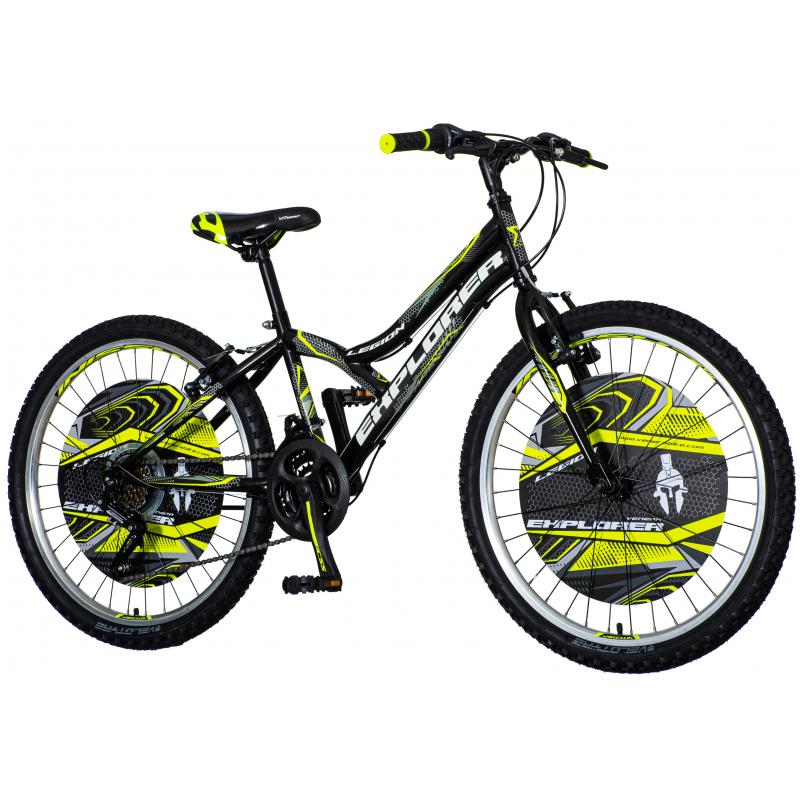 Детски велосипед EXPLORER LEGION RACER 24″, черен