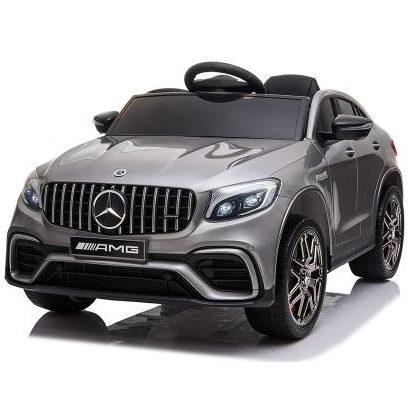 Акумулаторен джип Mercedes AMG GLC 63 S, Mеталик – QLS-5688 Сив
