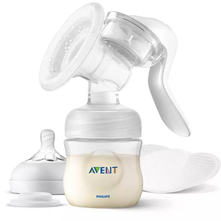 Промо Philips AVENT Ръчна помпа за изцеждане на кърма Natural Motion