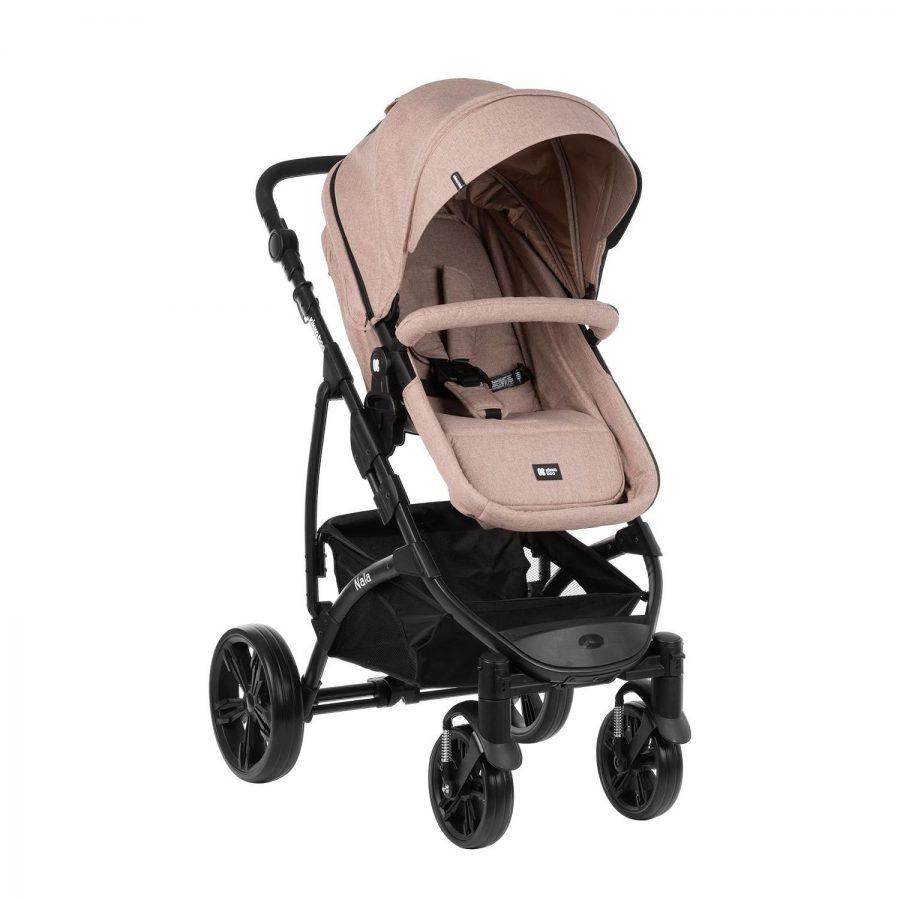 Кikka Boo Комбинирана бебешка количка 3в1 с трансф.седалка Nala Beige