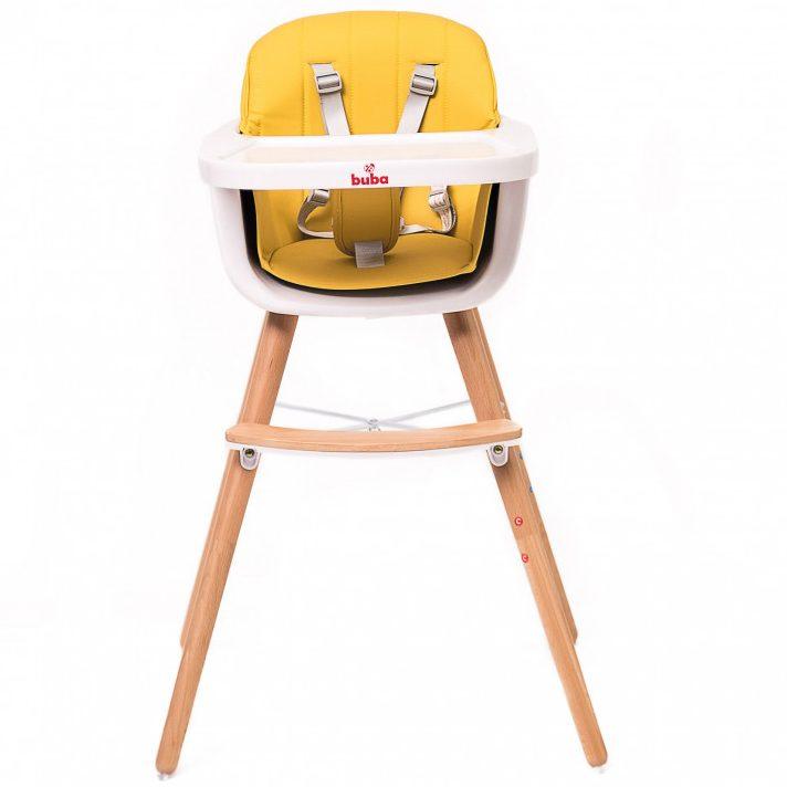 Столче за хранене Buba Carino, Жълто