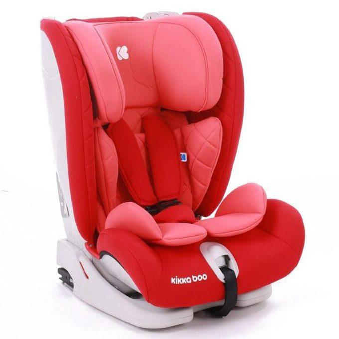 Kikka Boo Стол за кола(9-36кг) Viaggio ISOFIX Red